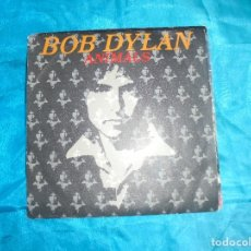 Discos de vinilo: BOB DYLAN. ANIMALS / WHEN HE RETURNS. CBS, 1979. Lote 182108455