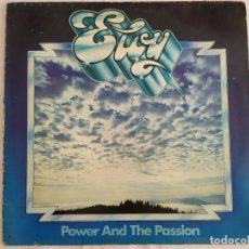 Discos de vinilo: ELOY – POWER AND THE PASSION. Lote 182110063