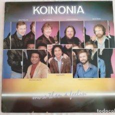 Discos de vinilo: KOINONIA – MORE THAN A FEELIN. Lote 182111716