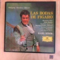 Discos de vinilo: CAJA - LAS BODAS DE FÍGARO. Lote 182114488