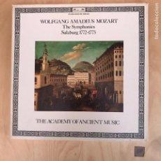 Discos de vinilo: WOLFGANG AMADEUS MOZART. Lote 182115361