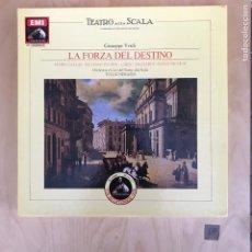 Discos de vinilo: CAJA - LA FORZA DEL DESTINO. Lote 182116447