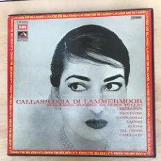 Discos de vinilo: CAJA - CALLAS / LUCIA DI LAMMERMOOR. Lote 182125005