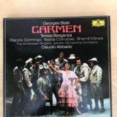 Discos de vinilo: CAJA - GEORGES BIZET - CARMEN. Lote 182125280