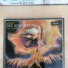 Discos de vinilo: CAJA - DIE SCHOPFUNG. Lote 182125473