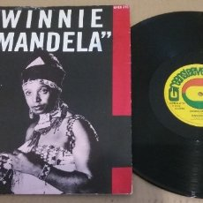 Discos de vinilo: CARLENE DAVIS / WINNIE MANDELA / MAXI-SINGLE 12 INCH. Lote 182135932