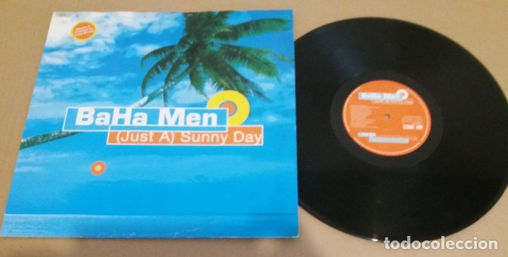Discos de vinilo: Baha Men / (Just A) Sunny Day / MAXI-SINGLE 12 INCH - Foto 1 - 182136058