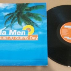 Discos de vinilo: BAHA MEN / (JUST A) SUNNY DAY / MAXI-SINGLE 12 INCH. Lote 182136058