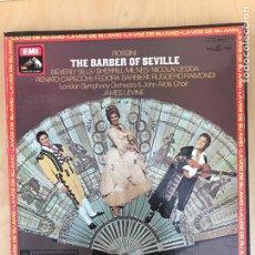 Discos de vinilo: CAJA - ROSSINI - THE BARBER OF SEVILLE. Lote 182136786