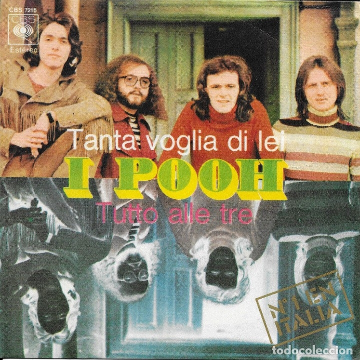 I POOH TANTA VOGLIA DI LEI CBS 1971 (Música - Discos - Singles Vinilo - Canción Francesa e Italiana)