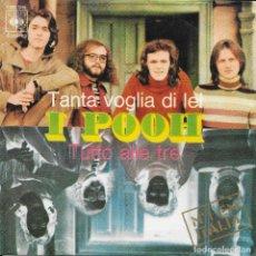 Discos de vinilo: I POOH TANTA VOGLIA DI LEI CBS 1971. Lote 198220047