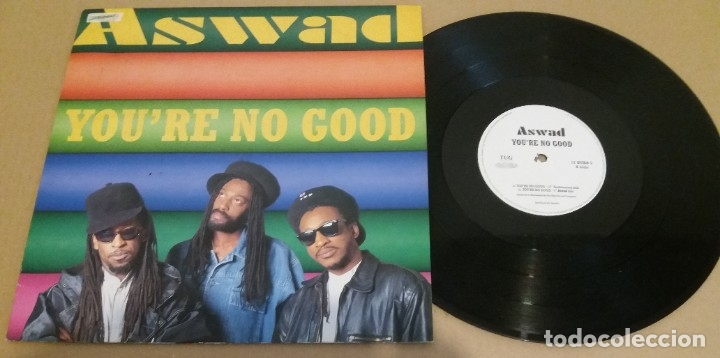 ASWAD / YOU'RE NO GOOD / MAXI-SINGLE 12 INCH (Música - Discos de Vinilo - Maxi Singles - Reggae - Ska)