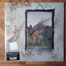 Discos de vinilo: LED ZEPPELIN - IV - REEDICIÓN 4º LP 1971 - PRECINTADO. Lote 182138723