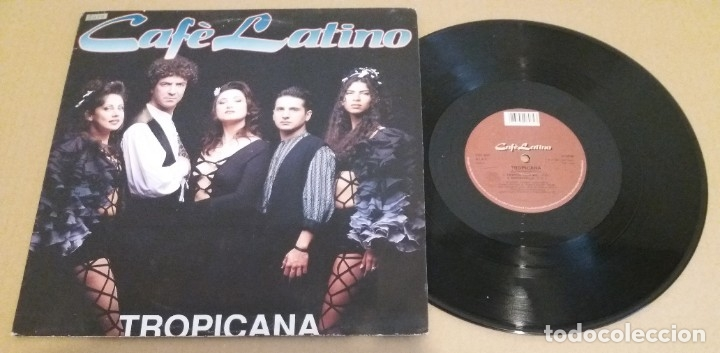 CAFE LATINO / TROPICANA / MAXI-SINGLE 12 INCH (Música - Discos de Vinilo - Maxi Singles - Techno, Trance y House)