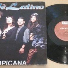 Discos de vinilo: CAFE LATINO / TROPICANA / MAXI-SINGLE 12 INCH. Lote 182138755