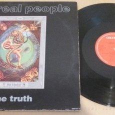 Discos de vinilo: THE REAL PEOPLE / THE TRUTH / MAXI-SINGLE 12 INCH. Lote 182138885