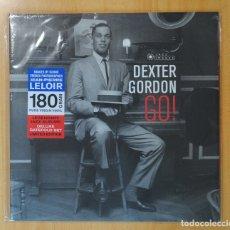 Discos de vinilo: DEXTER GORDON - GO! - LP. Lote 182152611