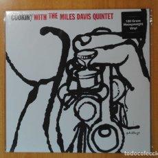 Discos de vinilo: THE MILES DAVIS QUINTET - COOKIN WITH THE MILES DAVIS QUINTET - LP. Lote 182152737