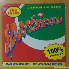 Discos de vinilo: THE FARM - SPARTACUS - LP. Lote 182152857