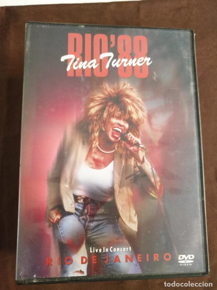 DVD TINA TURNER (Música - Discos de Vinilo - Maxi Singles - Pop - Rock Extranjero de los 90 a la actualidad)