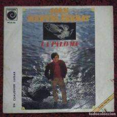 Discos de vinilo: JOAN MANUEL SERRAT (LA PALOMA / EN CUALQUIER LUGAR) SINGLE 1969. Lote 182155390