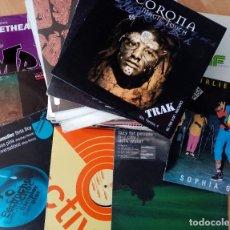 Discos de vinilo: LOTE 50 DISCOS MUSICA ELECTRONICA / HOUSE / TECHNO. Lote 182158243