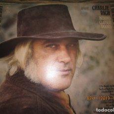 Discos de vinilo: CHARLIE RICH - BEHIND CLOSED DOORS LP - ORIGINAL INGLES - EPIC RECORDS 1973 - . Lote 182164553