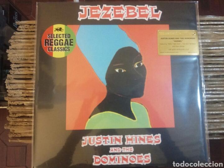 LP JUSTIN HINES - JEZEBEL NUEVO VINILO 180GR (Música - Discos - LP Vinilo - Reggae - Ska)