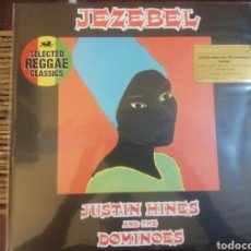 Discos de vinilo: LP JUSTIN HINES - JEZEBEL NUEVO VINILO 180GR. Lote 182172810