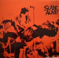 Discos de vinilo: SLADE - ALIVE! - LP PORTADA ABIERTA GATEFOLD ORIGINAL ESPAÑA 1972. Lote 182173041
