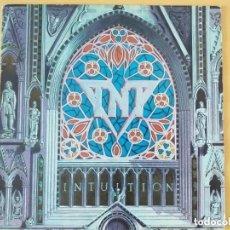 Discos de vinilo: TNT - INTUITION (LP) 1989. Lote 182195251