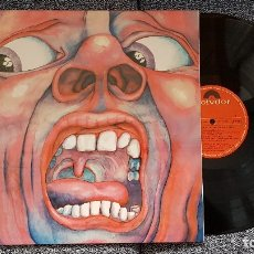 Discos de vinilo: KING CRIMSON IN THE COURT OF THE CRIMSON KING. L.P.PORTADA ABIERTA.SPAIN.POLYDOR.24 75 695. NUEVO.. Lote 182201665