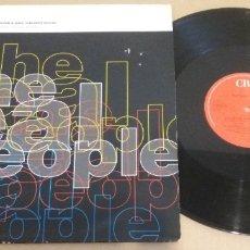 Discos de vinilo: THE REAL PEOPLE / WINDOW PANE / MAXI-SINGLE 12 INCH. Lote 182204796