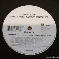 Discos de vinilo: THE EGG / GETTING AWAY WITH IT / MAXI-SINGLE 12 INCH. Lote 182205198