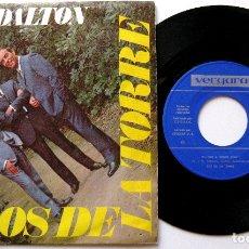 Discos de vinilo: LOS DE LA TORRE - MULINO A VENTO / LOS DALTON - SINGLE VERGARA 1967 BPY. Lote 182205551