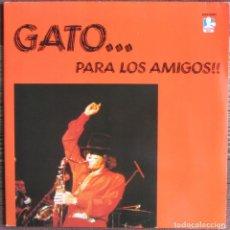 Discos de vinilo: GATO BARBIERI - GATO... PARA LOS AMIGOS - 2 LP - DOCTOR JAZZ 1983 EDICIÓN FRANCESA DE RCA. Lote 182209753