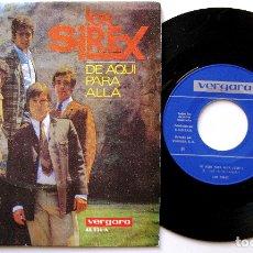 Discos de vinilo: LOS SIREX - DE AQUÍ PARA ALLÁ / EVA - SINGLE VERGARA 1967 BPY. Lote 182210013