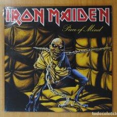 Discos de vinilo: IRON MAIDEN - PIECE OF MIND - LP. Lote 182210073