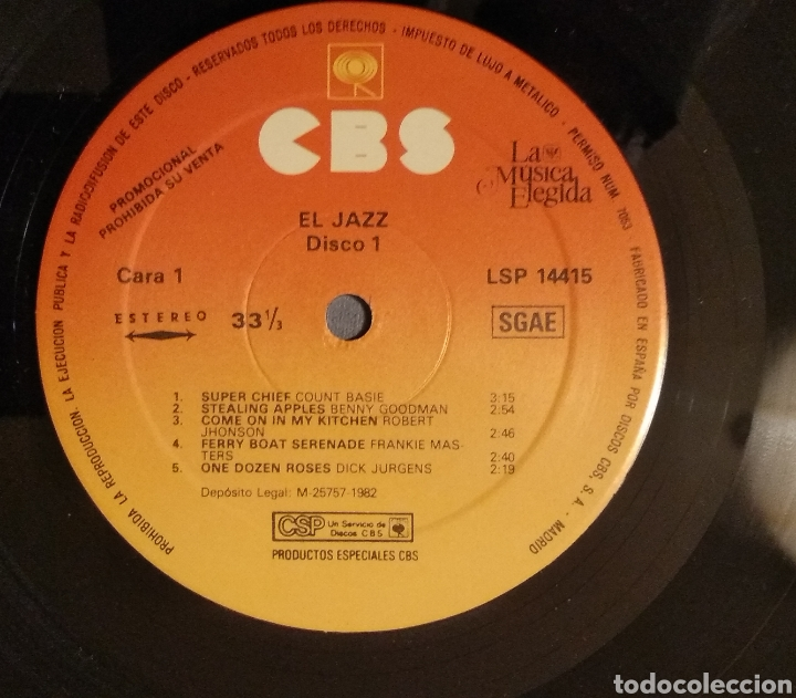 Discos de vinilo: LA MUSICA ELEGIDA... EL JAZZ - Foto 12 - 182215035