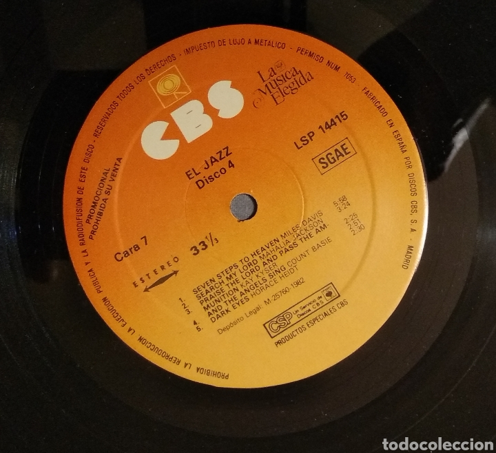 Discos de vinilo: LA MUSICA ELEGIDA... EL JAZZ - Foto 21 - 182215035