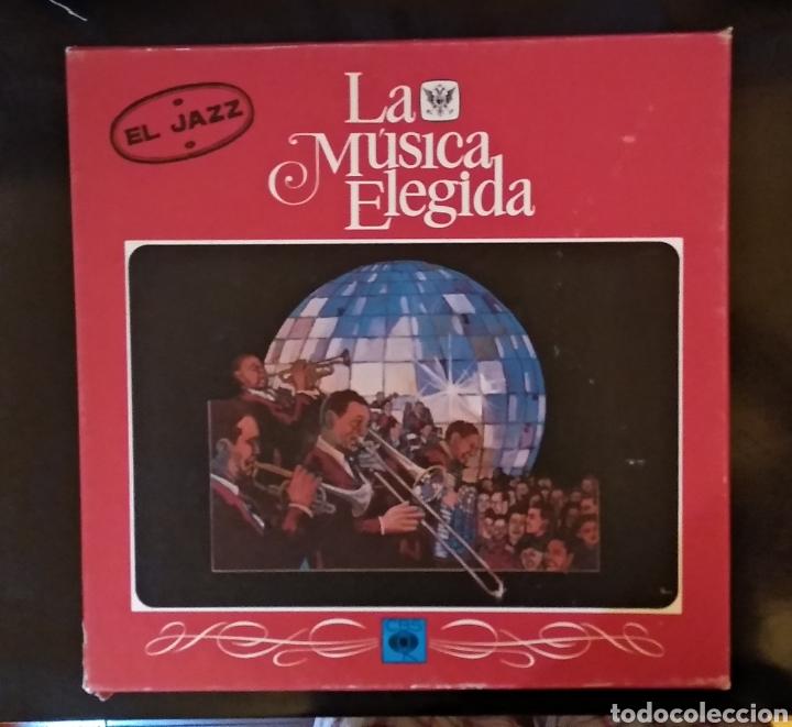 LA MUSICA ELEGIDA... EL JAZZ (Música - Discos - LP Vinilo - Jazz, Jazz-Rock, Blues y R&B)