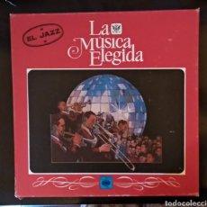 Discos de vinilo: LA MUSICA ELEGIDA... EL JAZZ. Lote 182215035