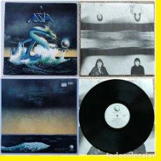 Discos de vinilo: ASIA - 1º LP !! SUPERBANDA !! STEVE HOWE, JOHN WETTON, COMPLETA EDIT USA + ENCARTE !! TODO IMPECABLE. Lote 70106453