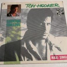 Discos de vinil: TOM HOOKER - LOOKING FOR LOVE - 1986. Lote 182229825
