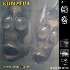 Discos de vinilo: KONZEPT – HUMAN TRANSMISSION. Lote 182238050
