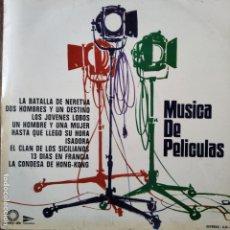 Discos de vinilo: MUSICA DE PELICULAS, RAYMOND LEFEVRE Y SU GRAN ORQUESTA - LP 1973. Lote 182242270