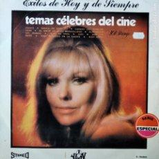 Discos de vinilo: TEMAS CELEBRES DEL CINE, ORQUESTA 101 STRINGS - LP 1970. Lote 182242352