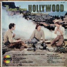 Discos de vinilo: THEMES FROM HOLLYWOOD - MARK WARREN & ORCHESTRA CORLOTONE STUDIO - LP 50'S. Lote 182242497