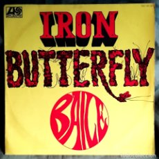 Discos de vinilo: IRON BUTTERFLY – BAILE LP, SPAIN 1969 PSYCHEDELIC ROCK. Lote 182244068