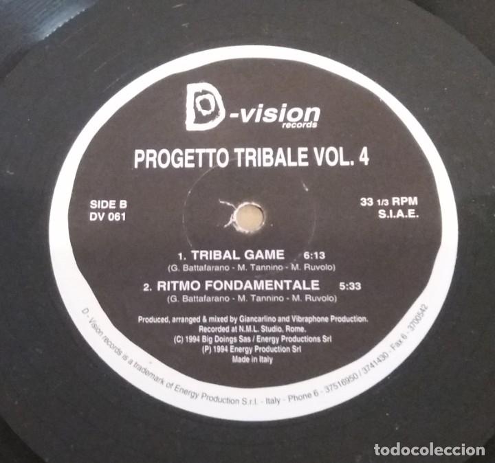 PROGETTO TRIBALE / VOLUME 4 / MAXI-SINGLE 12 INCH (Música - Discos de Vinilo - Maxi Singles - Pop - Rock Internacional de los 90 a la actualidad)